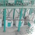 50 ton wheat flour mill complete plant