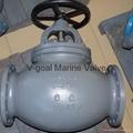 JIS Marine Cast Steel Globe Angle Valve 5K 10K 20K