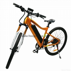 "full suspension 27"" 2-wheel electric mountain bike electric bicycle"