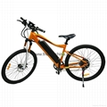 "full suspension 27"" 2-wheel electric mountain bike electric bicycle 2"