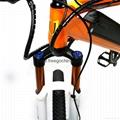"full suspension 27"" 2-wheel electric mountain bike electric bicycle 3"