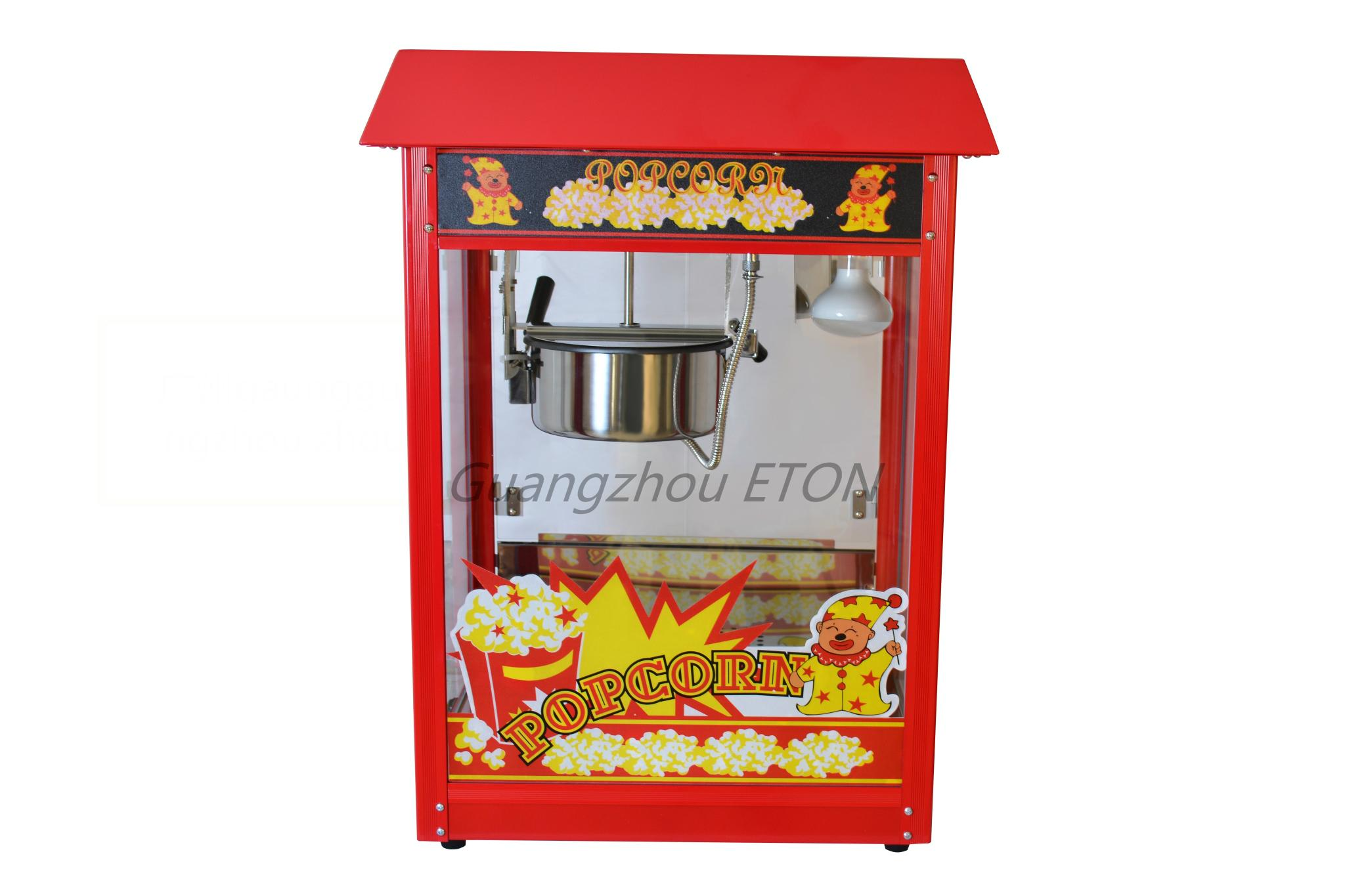 ETL & CE Popcorn machine ET-POP6A-R  3