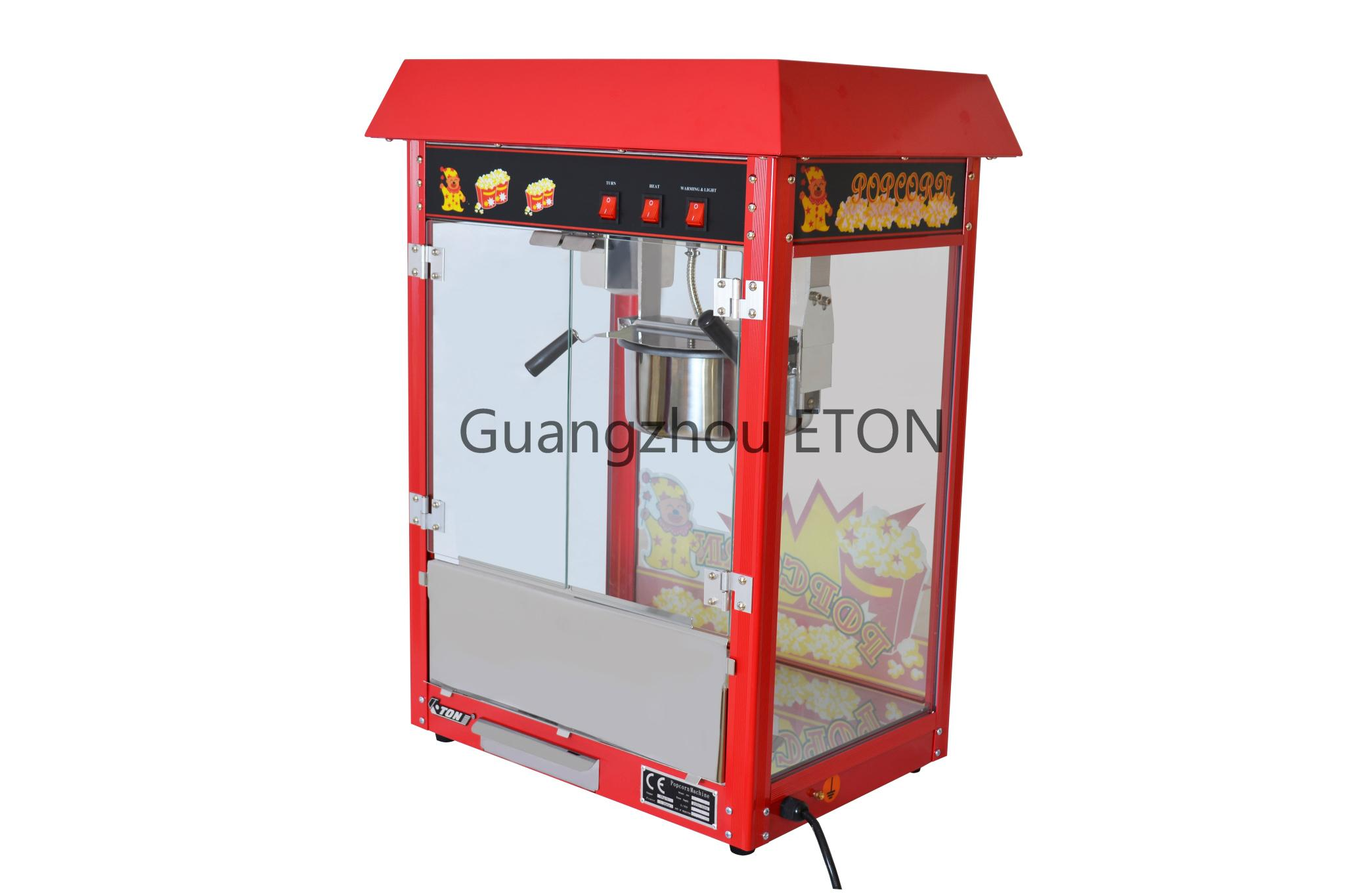 ETL & CE Popcorn machine ET-POP6A-R  5