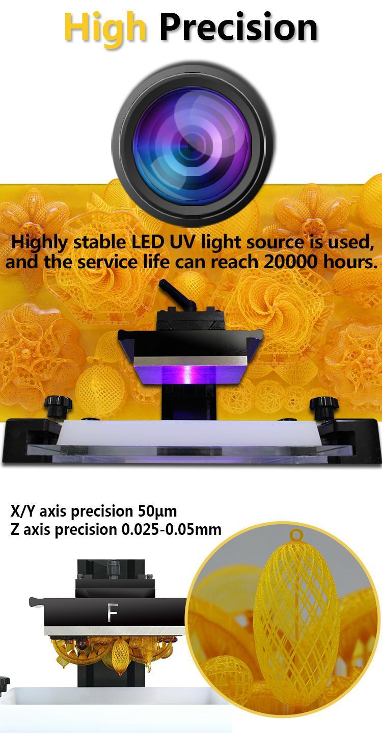 3D Plus Brand New Desktop 3D Printer DLP High Quality 3D printer 4