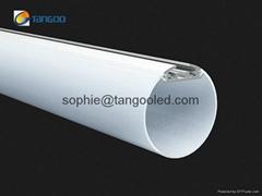 suspended round aluminum led profile led linear luminaires