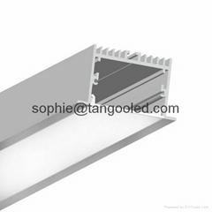 White Aluminum Profile L