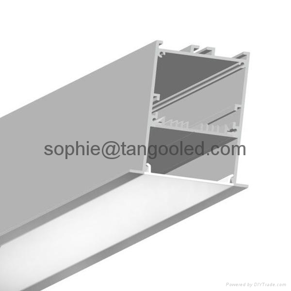 Recessed Wide Aluminum LED Profile with LED Driver Box for project