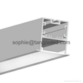 wide aluminum led profile led profile