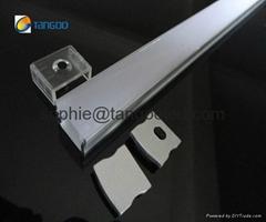 Flat aluminum profile su