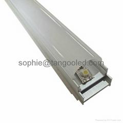 Sliding aluminum profile