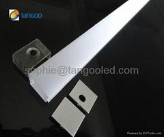 Aluminum light fixture, Led Light Bar Profile