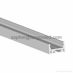 Aluminum led strip fixture, led profile light for housing