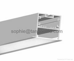 Wide aluminum profile wi