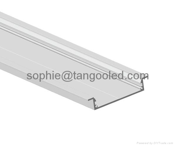 Wide extrusion led profile without led power supply box 2