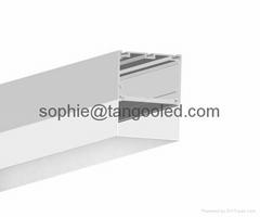 suspended led housing lighting profile