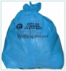 HDPE Plastic Garbage Bag