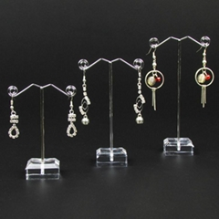 Metal Jewelry Earring Display Stand Rack Jewellery Holder