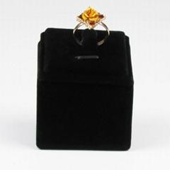 Velvet Jewelry Ring Display Stand Rack Jewellery Holder