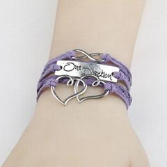 DIY multi-layer weaving bracelet, wish