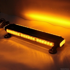 長條形爆閃杠燈42W四面頻閃燈