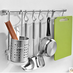 廚房五金置物架用於擺放刀筷子碗盤調味瓶