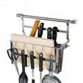 廚房刀架含挂勾可挂勺平底鍋等用