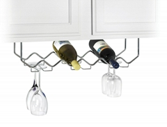 bottle cup holder shelf rakcs for bar using