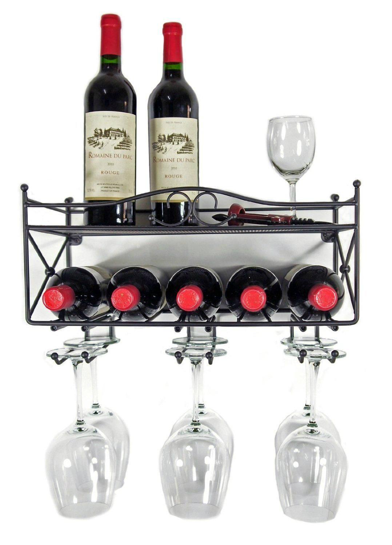 bottle cup holder shelf rakcs for bar using 2