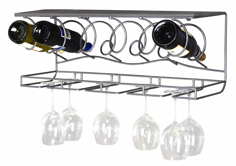 bottle cup holder shelf rakcs for bar using 4