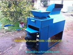 dry pea peeling machine