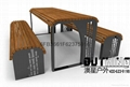 8mm鍍鋅板氟碳漆竹子雕花異形椅腳印尼菠蘿格特色坐凳 2