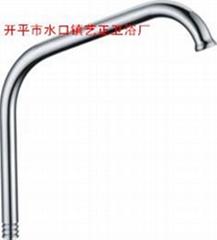 藝正衛浴供應水龍頭不鏽鋼鍍鉻出水管單冷