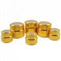 aluminum cream jar cosmetic container