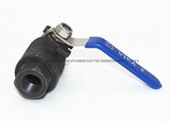 Q11F-1000WOG两片式内螺纹碳钢球阀(重型)