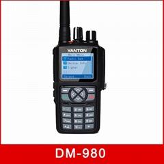DM-980 Digital Dual Mode DMR CE 5W SMS walkie talkie