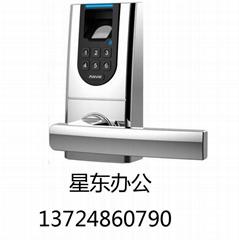 安威士L100K家庭和商业智能指纹门锁