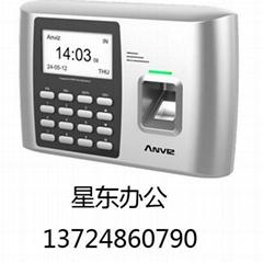 安威士A300指紋ID刷卡密碼考勤機