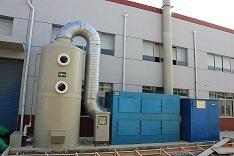 水噴淋廢氣淨化器