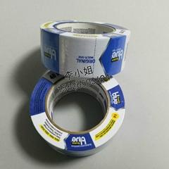 3M SJ2090美紋紙膠帶藍色單面膠3D打印機汽車房室噴塗漆