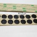 3M SJ4575魔朮貼搭扣背膠黑色蘑菇頭搭扣裝飾物品固定粘扣 1