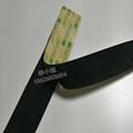 3M SJ4575魔朮貼搭扣背膠黑色蘑菇頭搭扣裝飾物品固定粘扣 2