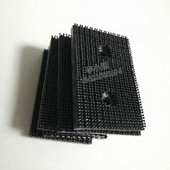 3M SJ3767雙鎖可調緊固件膠狀黑蘑菇頭扣尼龍超強粘性魔幻搭扣