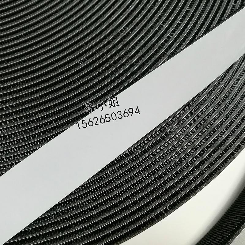 3M SJ3541 強力黑色蘑菇頭搭扣汽車飾品固定粘扣帶加厚子母扣 4
