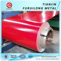 PPGI galvanized color coated metal sheet in Coil