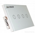 Wall Switch US Standard mobile Remote light lamps via touch wall wifi Switch 1