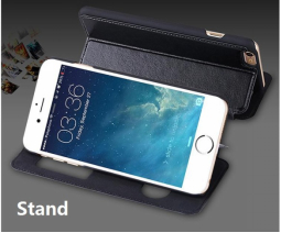 For iphone 7 with Genuine Leather Flip Mobile phone leather case,and the case ca 2