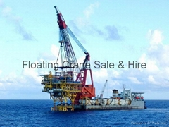 Azerbaijan Turkey Floating Crane barge Sale Rent Buy hire Azerbaijan Kazakhstan