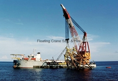 Philippines Singapore Thailand  Floating Crane barge Sale Rent Buy hire charter