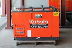 Kubota Diesel Generator 4 Pole Single and Three Phase