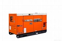 Kubota Diesel Generator 12.5 kVA to 30 kVA, 4-Pole Single & Three Phase